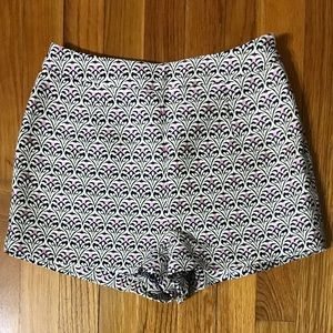 NEW Forever 21 high waisted embroidered shorts